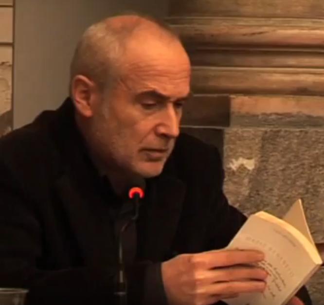 Il poeta italiano Mario Benedetti